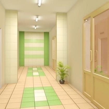 ЖК Березовая роща,коридор,отделка